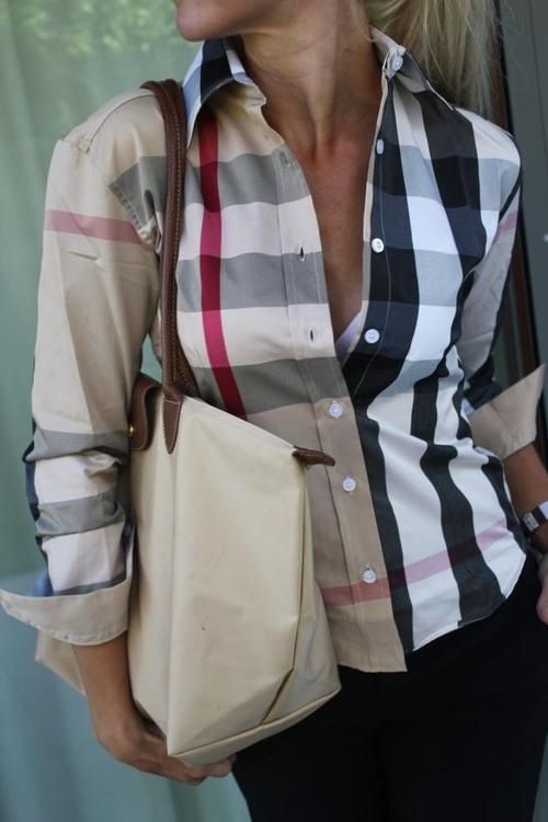 Burberry!! Need this shirt!