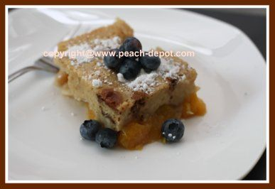 Easy to Make Peach Cobbler using FROZEN CANNED or FRESH Peaches!!