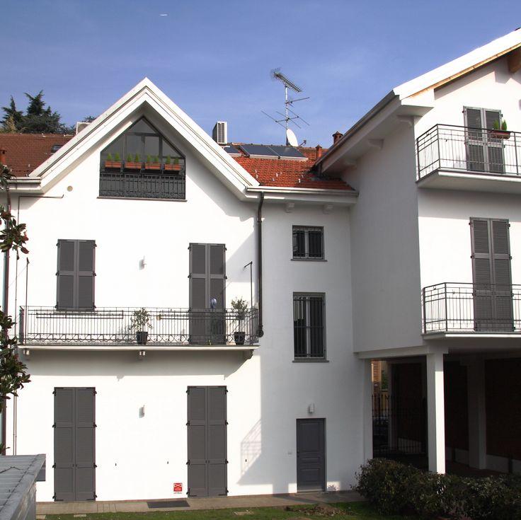 Progettazione Edificio Gallarate a cura di Massimo Benvenuto (MB studio progettazione)