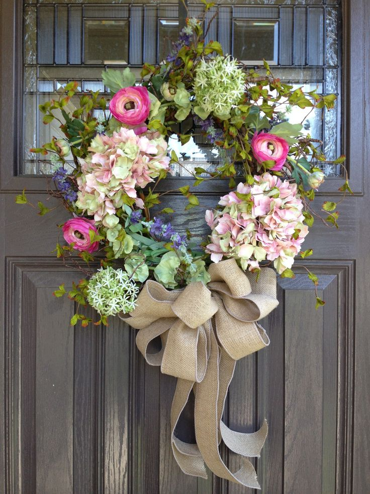 17 best images about come on in spring edition on pinterest summer wreath front door