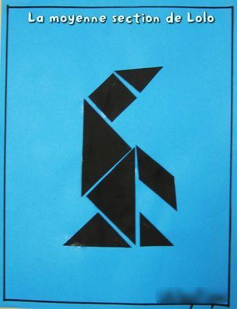 tangrams animaux de la banquise                                                                                                                                                                                 Plus