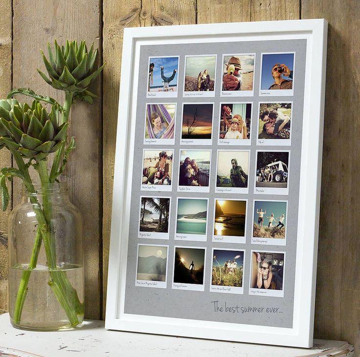 Оформление стены фотографиями: яркие мгновенья жизни в интерьере http://happymodern.ru/oformlenie-steny-fotografiyami-yarkie-mgnovenya-zhizni-v-interere/ Фото, касающиеся одного события, например отпуска или свадьбы, можно разместить в одной общей раме