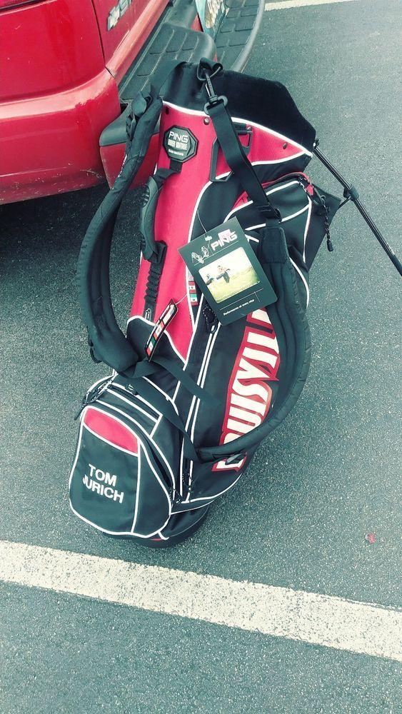 328fb1127dc7 eBay  Sponsored NEW Ping Hoofer Stand Bag RARE University Of Louisville Golf  2006 07 BIG
