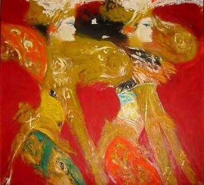 Legong dancer by Srihadi