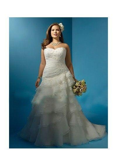 57 best Big & Beautiful (Plus) images on Pinterest   Wedding dresses ...
