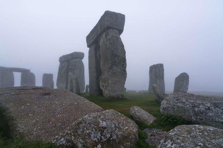 Nye fantastiske funn nær Stonehenge offentliggjort mandag - Aftenposten