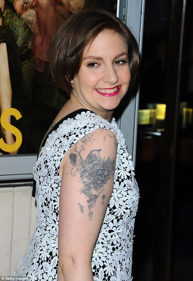 I honestly despise Lena Dunham's arm tattoo. Terrible placement and just one big splotch of ugh.