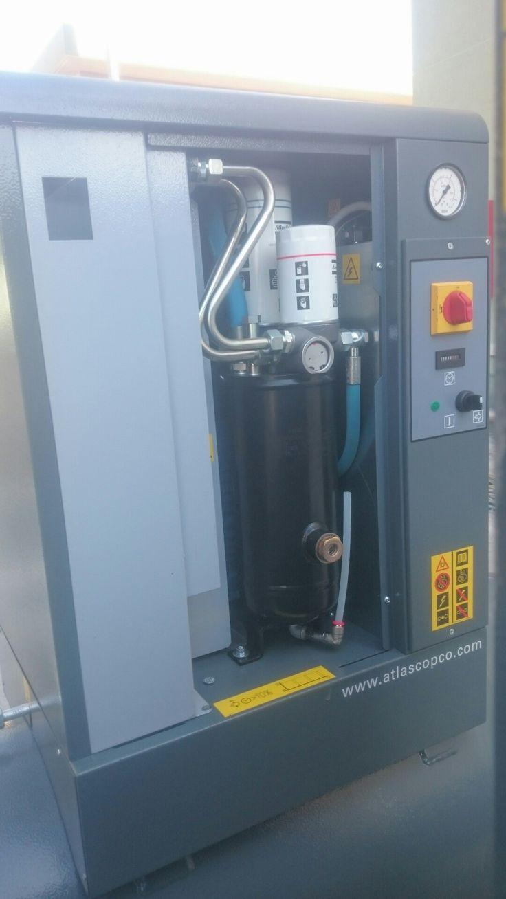 Gx 7 ep air compressor max pressure 10 bar with 500 l air tank motor