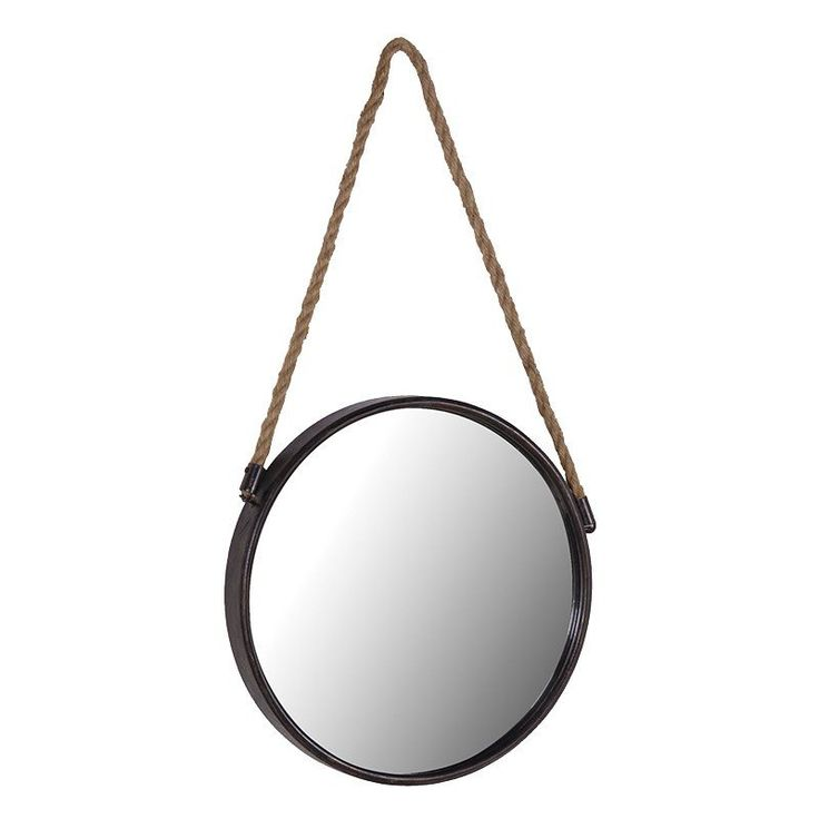 Hanging small mirror