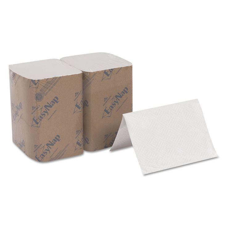 Georgia Pacific Professional EasyNap Embossed Dispenser Napkins 2Ply 6 1/2x9 7/8 500/Pack 6 Pack/Carton