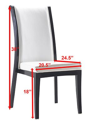 Contemporary Restaurant Chairs pinterest'teki 25'den fazla en iyi white leather dining chairs