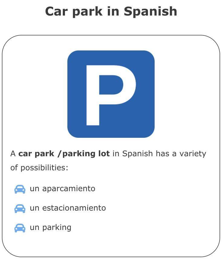 Car In Spanish