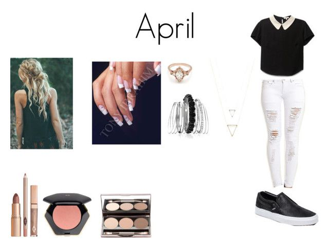 """April Style"" by camillaknudsen on Polyvore featuring Vans, BEA, Avenue and H&M"
