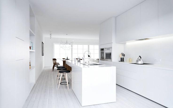 43 best Küche images on Pinterest   Küchen design, Moderne küchen ...