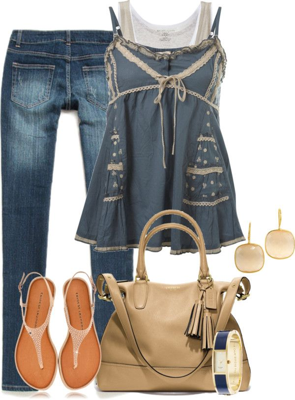 """""""Untitled #2704"""" by lisa-holt ❤ liked on Polyvore. Love the top!"""