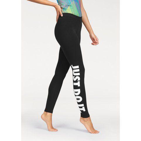 Legging femme Just Do It Nike - Bleu- Vue 1