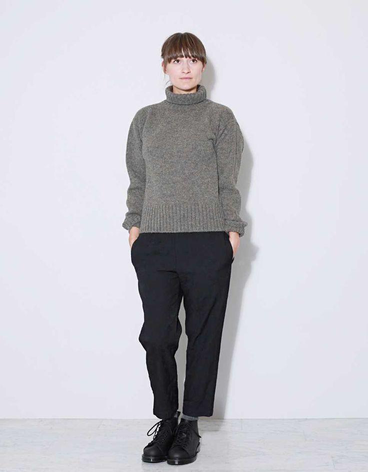 Margaret Howell Merino Roll Neck Sweater