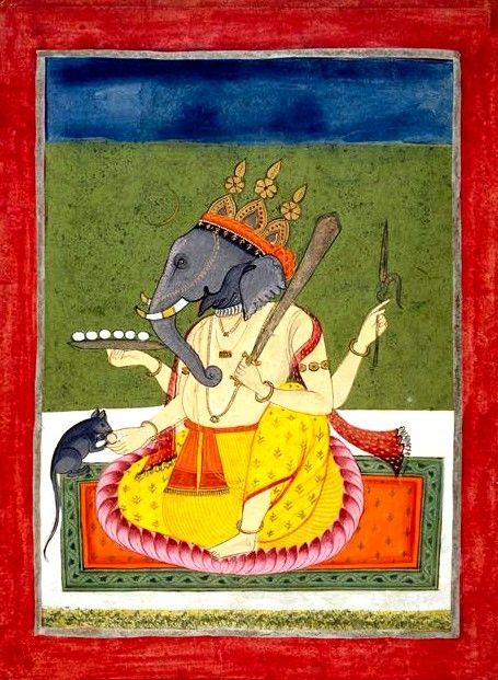 Ganesh. 18th century, Bihar, India.