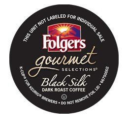 FOLGERS BLACK SILK K CUP COFFEE 48 COUNT - http://thecoffeepod.biz/folgers-black-silk-k-cup-coffee-48-count/