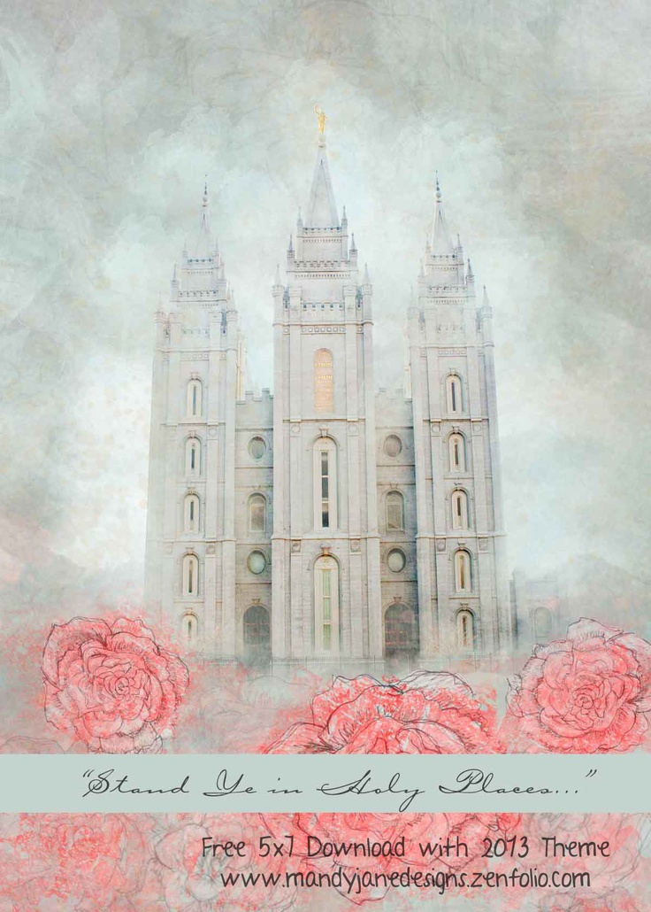 """Free 5x7 Download with 2013 Theme. For personal or church use. Go to website link, right-click """"download"""""""