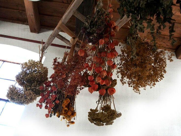 Maya-Honey Lampwork: Rustic barn, Austria