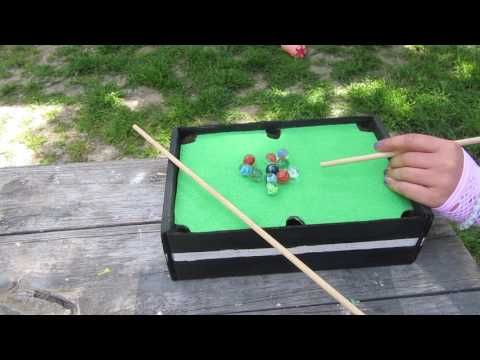 Mini Pool Table Top Game: 7 Steps (with Pictures)