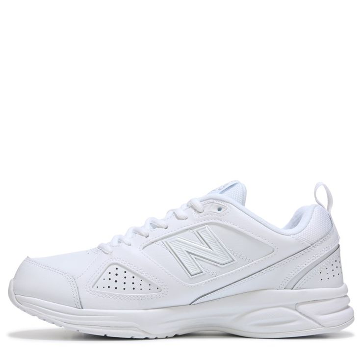 New Balance Men's 623 V3 Medium/Wide/X-Wide Sneakers (White Leather) - 10.5 2E