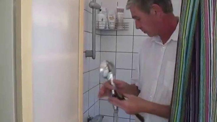 Video Waterpurifier for showers
