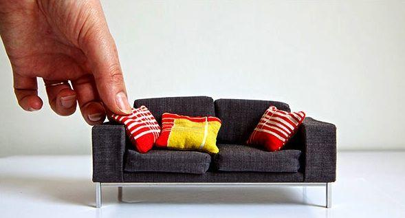 Miniaturas de móveis | Kandis Design Blog