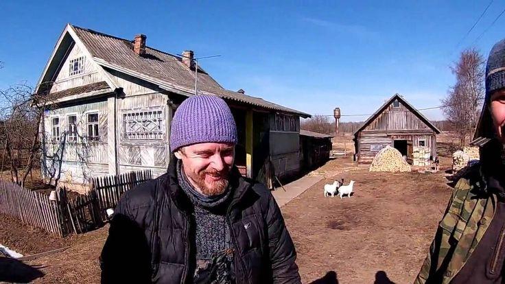 Поездка к Саше и Диане 1 часть // Из города в деревню.