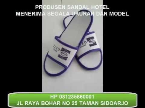 souvenir sandal hotel murah surabaya 081235860001