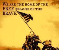 We Are Home Of The Free Because Of The Brave