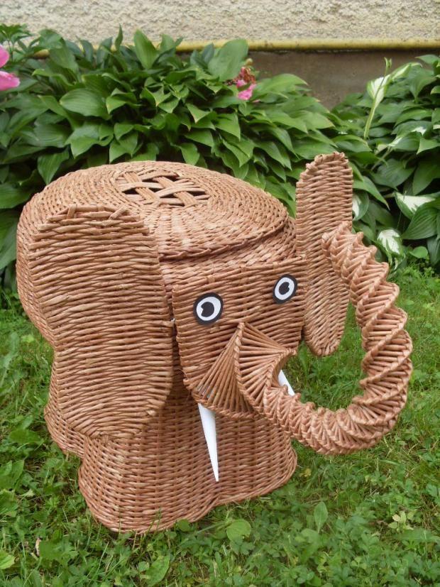 Slon, Papierové pletenie