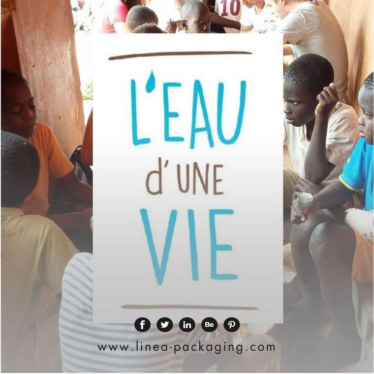 """[NOUS SOUTENONS] Nous soutenons l'eau d'une vie – un projet humanitaire qui permet à des jeunes de la région de partir au Sénégal, afin de faire forer un puits de 150 mètres qui pérennisera la vie d'un village pilote.  """"C'est en donnant qu'on peut recevoir et ensemble on va plus loin."""""""