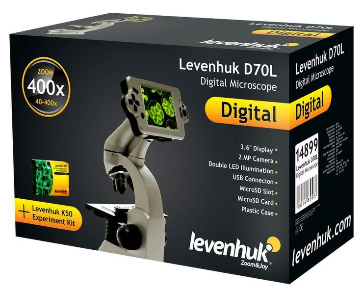 Digitální mikroskop Levenhuk D70L: Digitální mikroskop s velkým barevným displejem a připojením k PC  #levenhuk #mikroskop #mikroskopy #mikroskopyLevenhuk #LevenhukČeskáRepublika #DigitálníMikroskop #koupitonline #koupit