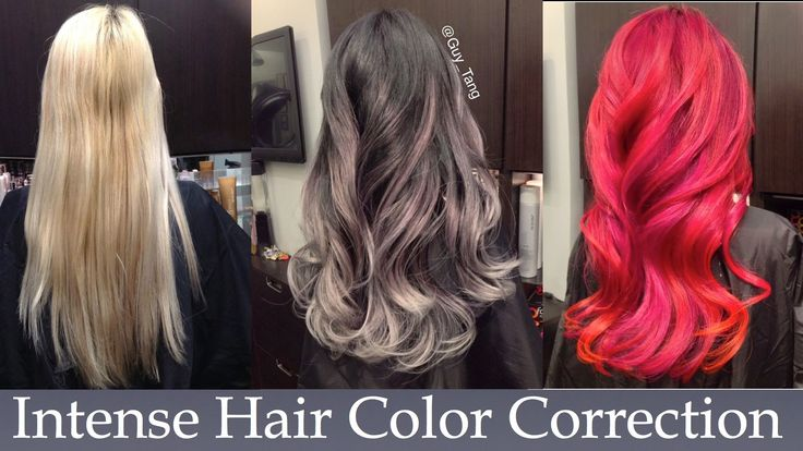 Intense Hair Color Correction OMG! This is FABULOUS!