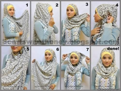 TUTORIAL HIJAB 9