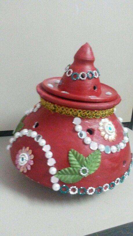 Garba Painting/pot painting