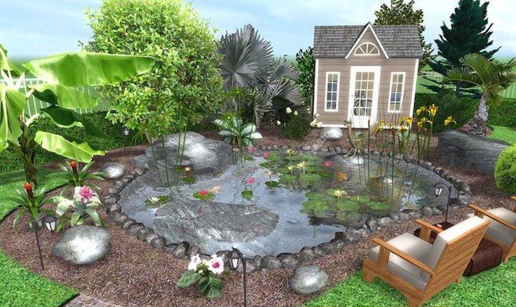 Quel logiciel gratuit de plan de jardin 3D choisir?C'est à vous de choisir!Les technologies contemporaines vous offrent des couleurs et une visualisation d
