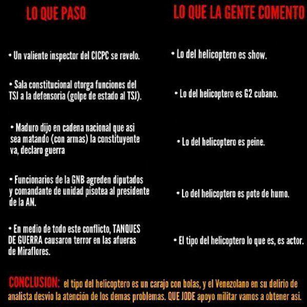 """No sabemos de quién es la imagen.  ___________________  Corrección: """"REBELÓ"""", en vez de """"revelo"""". #vzla2  __________________  Tomemos esto en cuenta. Hoy, nuevamente, TODOS A LA CALLE. #jacv2017  #noticiascarabobo #venezuela #valencia #caracas #vargas #Maracay #maracaibo #chacao #elhatillo #baruta #barquisimeto #likeforfollow #like4like #photo #Naguanagua #sandiego #guacara #puertocabello #falcon #margarita #bejuma #miranda #montalban #maturin #guacara #sandiego #sandiegoconnection #sdlocals…"""