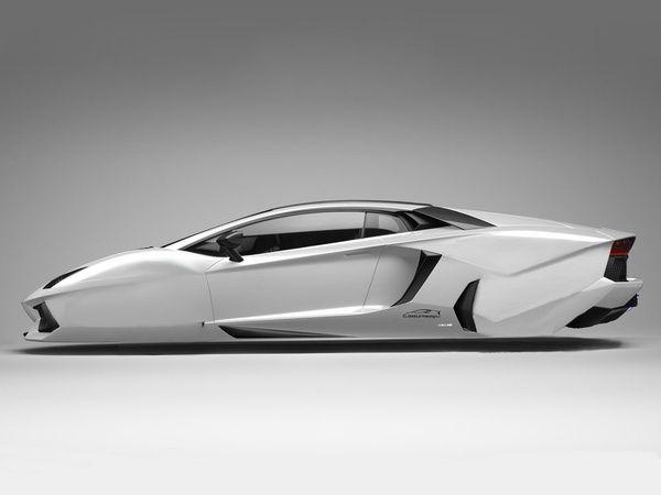 Lamborghini Hover Car 2 by DQSanchez.deviantart.com on @DeviantArt