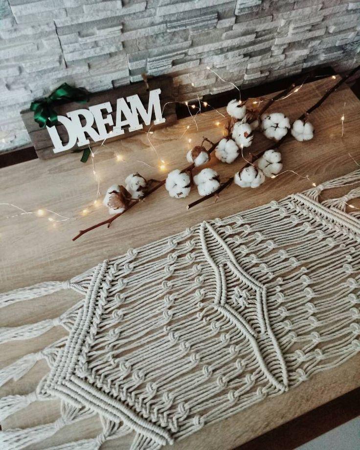 Macrame Table Runner Table Runner Bohemian Home Decoration