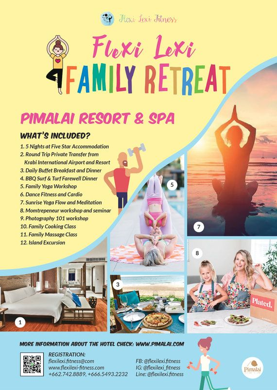Gather up the family and join Flexi Lexi's Family Retreat at