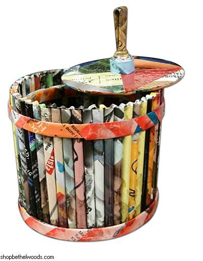 Basket Making Using Recycled Materials : Best images about recycled on