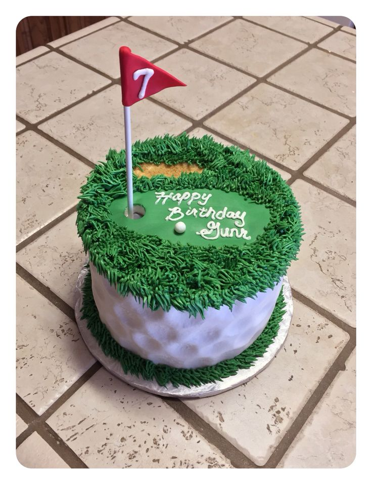 Golf ball cake :)                                                                                                                                                      Más