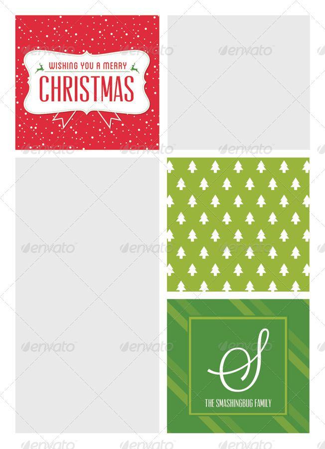 Modern Christmas Card V5 Modern Christmas Cards Modern Christmas Christmas Greeting Cards