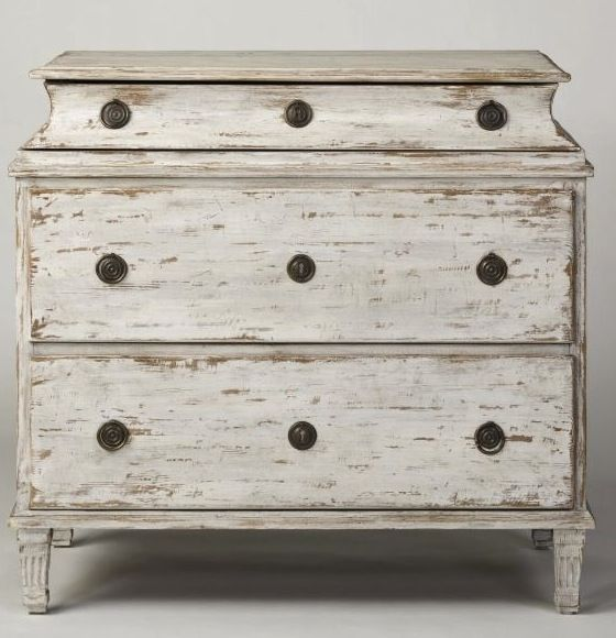 Swedish 3 Drawer Chest