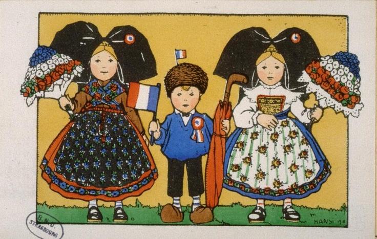 [Pour les glorieux poilus de France]; Hansi