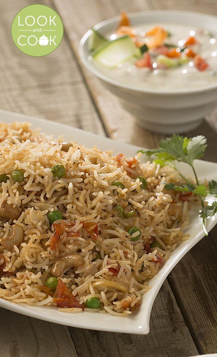 TOMATO RICE RECIPE Tomato Rice(#LC14058): A healthy, delicious rice preparation with the full-bodied flavour of fresh ripe tomatoes, rich with traditional Indian spices.