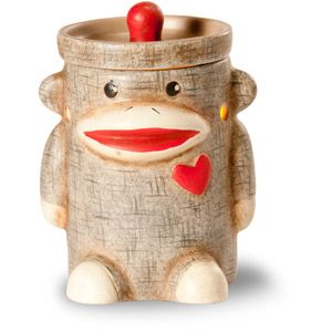 Sock Monkey ScentSationals Mini Warmer from Walmart...would go nicely with some Soy Wax Tarts from www.gracenotegifts.etsy.com